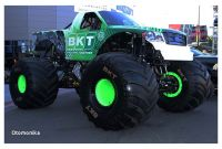 How Much Do Bkt Monster Truck Tires Cost Bkt Builds Gigantic Monster Jam Truck Tire Tires & Parts News