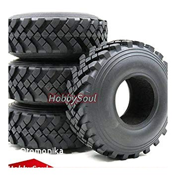 4pcs RC 2 2 Truck Crawler Tires Tyres OD 129mm Fit 2 2 Beadlock